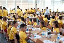 """BSH 7 Eylül 2013 - Çocuk Günü / BSH Çerkezköy ailesi bu yıl 2.kez küçük fertlerini ağırladı!  Çerkezköy """"Çocuk Günü"""" ile renklendi :) Bu yıl 7 Eylül'de ikincisi düzenlenen """"Çocuk Günü"""" aktivitesine, ilk hafta Soğutucu ve Bulaşık Makinesi fabrikası çalışanlarının çocukları katıldı. > http://bit.ly/1e8NTdB"""