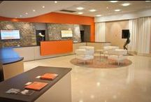 NOS ESPACES DE LOCATION / 1300 m² d'espaces modulables pour réunion, convention, congrès, séminaire, cocktail, déjeuner, dîner, exposition, lancement de produit....de 100 à 800 personnes