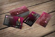 Intero Real Estate Business Card Templates