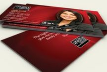 Long & Foster Real Estate Business Card Templates