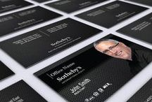 Sotheby's Realty Business Card Templates.