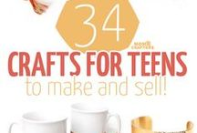 Teen Business Ideas / Don't wait! Starting your own business is often a way to make a lot more money than minimum wage for teens!