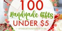 Homemade Gift Ideas / Giving someone a gift made with love is almost always better than something you can purchase and can be a huge savings!