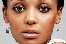 Makeup For Dark Skin / Inspiration for Makeup looks for dark skin tones