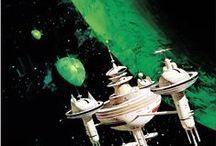 Retro Sci-Fi, Retro Futurism Art / Retro Sci-Fi. science fiction. old school