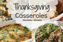 Thanksgiving Recipes / Thanksgiving recipes for holiday meal planning. Delicious food ideas for Thanksgiving dinner and dessert.