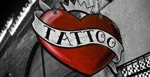 Tattoo Parlor / Inside a tattoo shop