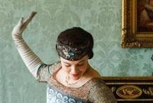 Downton #1 / I love the decor , the food, Maggie Smith razorsharp lines...