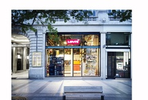 Paris #1 and all / Flagship Levis Store on the Champs Elysees in Paris.