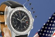 Breitling Watches / Breitling was founded iN 1884 and is one of the only watch brands to equip all its models with chronometer-certified movements. They produce their own movements and are a family business still independent among Swiss brands.