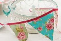 Beautiful Bunting / Decorate your home with some gorgeous bunting!
