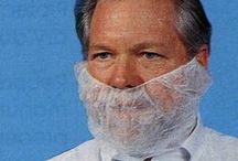 beard nets / At 8am this morning, I saw a man wearing a beard net successfully pick up a lady. Glorious. This week's Pinterest board pays homage to this worker, and those with unstoppable game e'rrywhere. Presenting, beard nets. enjoy!