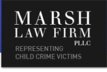 Marsh Law Firm / Marsh Law Firm is recognized worldwide as a premier law firm representing victims of sex abuse in schools, colleges, churches, foster care, and government and military institutions; online sexual exploitation; sexting; child pornography; child trafficking; sextortion; and revenge porn.
