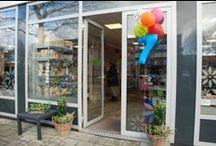 Doe@ding 7 jaar - 11 januari 2014 / Op zaterdag 11 januari was er een feestje. Er waren deze dag demonstraties in de winkel van Hennie Barendregt, Astrid Schipper en Anita Izendoorn.