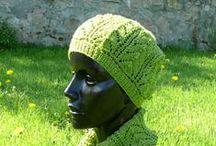Les Bonnets, et autres couvre-chefs / Des modèles gratuits de bonnets, bérets et accessoires pour la tête!