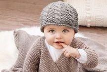 Tricots enfants / tous les ouvrages pour les petits dès la naissance