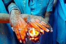 Bleu Maroc / tous les bleus du Maroc / by marie-helene ALVIN