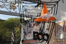 Halloween 31 oktober 2014 / Op vrijdag 31 oktober 2014 waren er bij Doe@ding demonstraties van Astrid Schipper, Anita Izendoorn en Raffaela Perego met als thema: Halloween. Er konden ook armbandjes gemaakt worden.