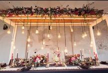Wood / Natural, rustic and adaptable!!!  We love using wood to make wedding decoration statements!