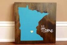 Minnesota Heart / Missing home in Minnesota