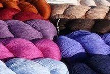 Laines - Yarns / toutes les laines que j'aime et que je vends ici: http://lesaiguillesdecamille.com/