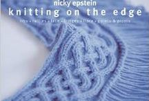 Mes livres de tricot- My knitting books