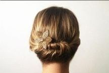 Easy Travel Hairstyle / Quick, easy hairstyles