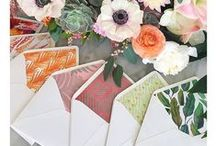 Wedding Stationery / Add a personal touch with very special, handcrafted stationery