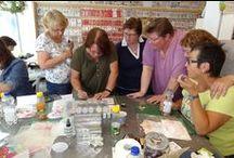 "Workshop Anita Izendoorn - Limited Edition / In de zomer van 2015 heeft Anita Izendoorn de workshop ""Limited Edition"" gegeven."