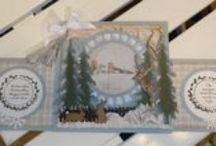 Workshop Astrid Schipper - 1 december 2015 / Op 1 december 2015 gaf Astrid Schipper een workshop kaart maken in kerstsfeer.