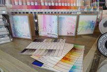 ZIG Markers - Annelies Moerman / Op 26 maart 2016 liet Annelies Moerman zien, hoe fijn en makkelijk de ZIG CLEAN COLOR REAL BRUSH markers werken.