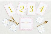 'ello Paper Day-of Wedding Stationery + Favors