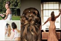 Wedding Hair Styles / Wedding styles created by the talented team from Hampshire Bridal Hair at The Hair Studio