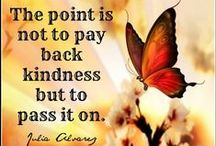 Kindness Starts in the ~♥ / ♥  / by Skob Bese