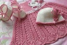 crochet niñas niños y bebes  / by Martha Lesvia Gómez B