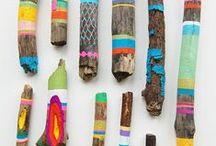 Elementi Naturali e Land Art / Organic elements & Land Art