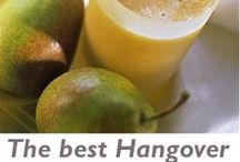 Hangover Cures / Natural ways to get rid of that hangover.