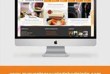 Portfolio / Portafolio Web de proyectos realizados por Virginia Torres Fortún. Diseñador gráfico y web.