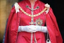 Orders of Chivalry / Humphries Weaving has a long standing tradition of supplying the highest quality fabric for use in Royal Chivalry robes and ceremonial dress. www.humphriesweaving.co.uk