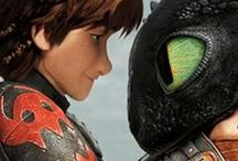 How to train your dragon / These are the best movies in the world to me....I never laughed soo much as I laughed at toothless....I want one!!
