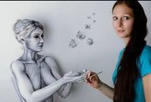 Amazing Bodypainting by Gesine Marwedel