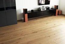 Scheucher, dąb postarzany - realizacja direct floor / Postarzana, szczotkowana i olejowana 3-warstwowa podłoga Scheucher Parkett w kolorze naturalnym w mieszkaniu jednego z naszych zadowolonych klientów :)