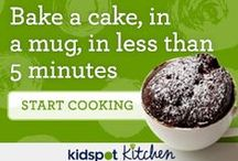 Kids food / Spending time cooking with the kids is lots of fun and builds confidence and independence