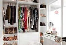 * Closet / Small closet and outfit ideas.