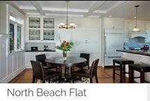 North Beach Flat / Transitional decor