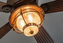 Lighting / Home lighting, interior and exterior, in homes we've built throughout Maine.