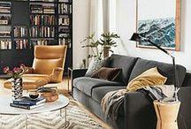 G & B TV Nook / Side tables, Rugs, Poufs