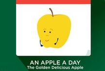 National Apple Week / To celebrate National Apple Week, Shape Your Future is feeding you facts every day this week about an assortment of appetizing apples!