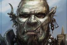 Male characters / Cyberpunk, Shadowrun, Scifi characters