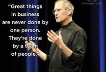 "Technology  / ""Your time is limited, so don't waste it living someone else's life. Stay hungry, stay foolish."" Steve Jobs"